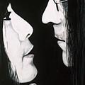 Lennon And Yoko by Ashley Price