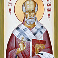 St Nicholas Of Myra by Julia Bridget Hayes