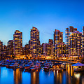 Yaletown From Cambie Bridge by Alexis Birkill