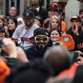 2012 San Francisco Giants World Series Champions Parade - Sergio Romo - Dpp0007 by Wingsdomain Art and Photography