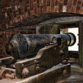 24 Pounder Cannon by Peter Chilelli