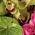 A Close-up Of A Bouquet Of Flowers by Nicholas Eveleigh