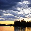 Dramatic Sunset At Lake by Elena Elisseeva