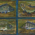 4 Fishes by Anna Folkartanna Maciejewska-Dyba