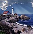 Portland Head Lighthouse by Skip Willits