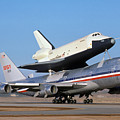 747 Takes Off With Space Shuttle Enterprise For Alt-4 by Brian Lockett
