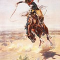 A Bad Hoss by Charles Russell