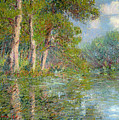 A Bend In The Eure by Gustave Loiseau