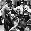 A Black Man Is Attacked By A Policeman by Everett