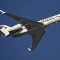 A Bombardier Global 5000 Vip Jet by Timm Ziegenthaler