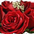 A Bouquet Of Red Roses by Sue Melvin