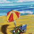 A Day At The Beach by Russell Pierce