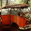 A Forgotten 23 Window Vw Bus  by Michael David Sorensen