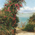 A Garden By The Sea  by Frank Topham