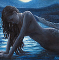 A Mermaid In The Moonlight - Love Is Mystery by Marco Busoni