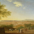 A Panoramic View Of Florence From Bellosguardo by Thomas Patch
