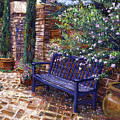 A Shady Resting Place by David Lloyd Glover