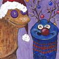A Sock Puppet Christmas by Robin Wiesneth
