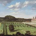 A View Of Bayhall - Pembury by Jan Siberechts