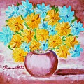 A Whole Bunch Of Daisies by Ramona Matei