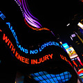 Abc News Scrolling Marquee In Times Square New York City by Amy Cicconi