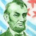 Abraham Lincoln  by Yoshiko Mishina