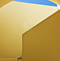 Abstract Architecture In Yellow by Meirion Matthias