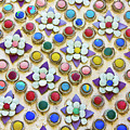 Abstract Ceramic Wall Background by Wetchawut Masathianwong