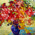Abstract Floral 1 by Marion Rose