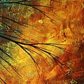 Abstract Landscape Art Passing Beauty 5 Of 5 by Megan Duncanson