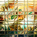 Abstract-through Glass by Patricia Motley