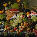 Abundant Fruit by Severin Roesen