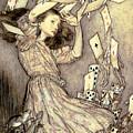 Adventures In Wonderland by Arthur Rackham