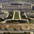 Aerial Photograph Of The Pentagon by Stocktrek Images