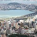 Aerial View Of Florianópolis by DircinhaSW