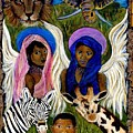 African Angels by The Art With A Heart By Charlotte Phillips