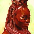 African Beauty by Enzie Shahmiri