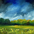 After Spring Rain by Linda L Martin