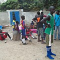 After The Game - Goree Boys by Fania Simon