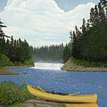 After The Rapids by Kenneth M  Kirsch