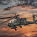 Ah-64 Apache Attack Helicopter by Randy Steele