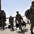 Airmen Arrive In Iraq In Support by Stocktrek Images