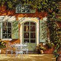 Al Fresco In Cortile by Guido Borelli