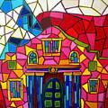 Alamo Mosaic Two by Patti Schermerhorn