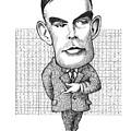Alan Turing, British Mathematician by Gary Brown