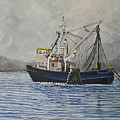 Alaskan Fishing by Reb Frost