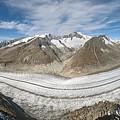 Aletsch Glacier, Switzerland by Dr Juerg Alean