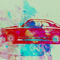 Alfa Romeo  Watercolor 2 by Naxart Studio