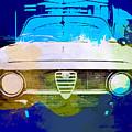 Alfa Romeo Watercolor by Naxart Studio