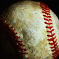 All American Pastime - Baseball - Square - Painterly by Wingsdomain Art and Photography